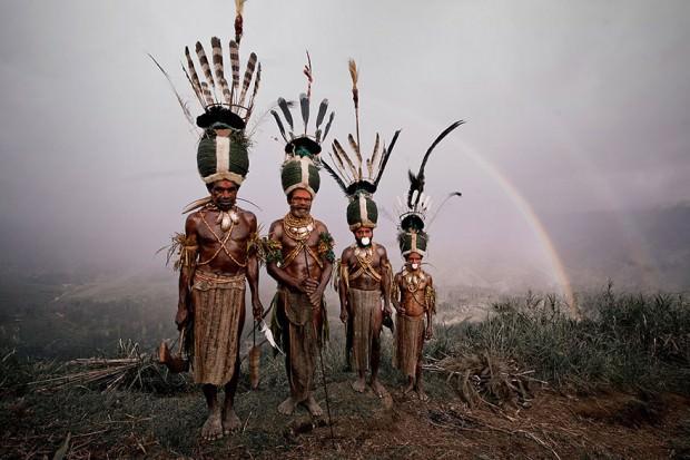 Tribus de polinesia fotos antiguas