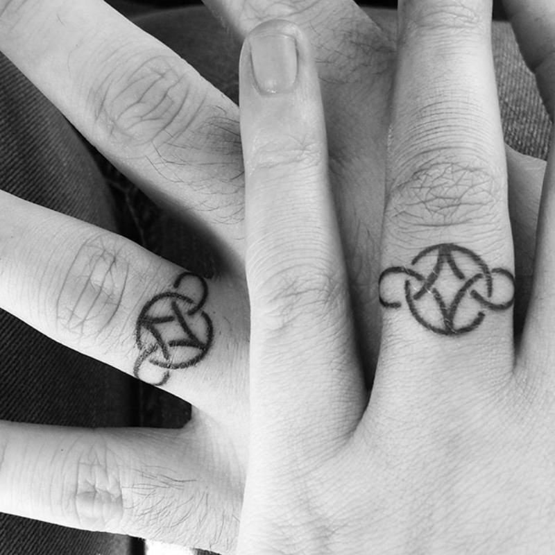 Celtic Knot Weding Rings 014 - Celtic Knot Weding Rings