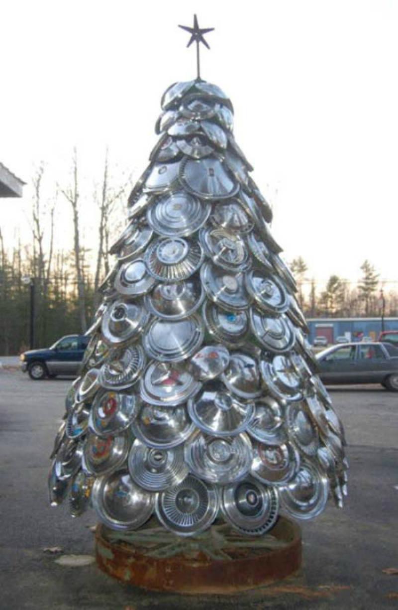 Arbol reciclado foto 21