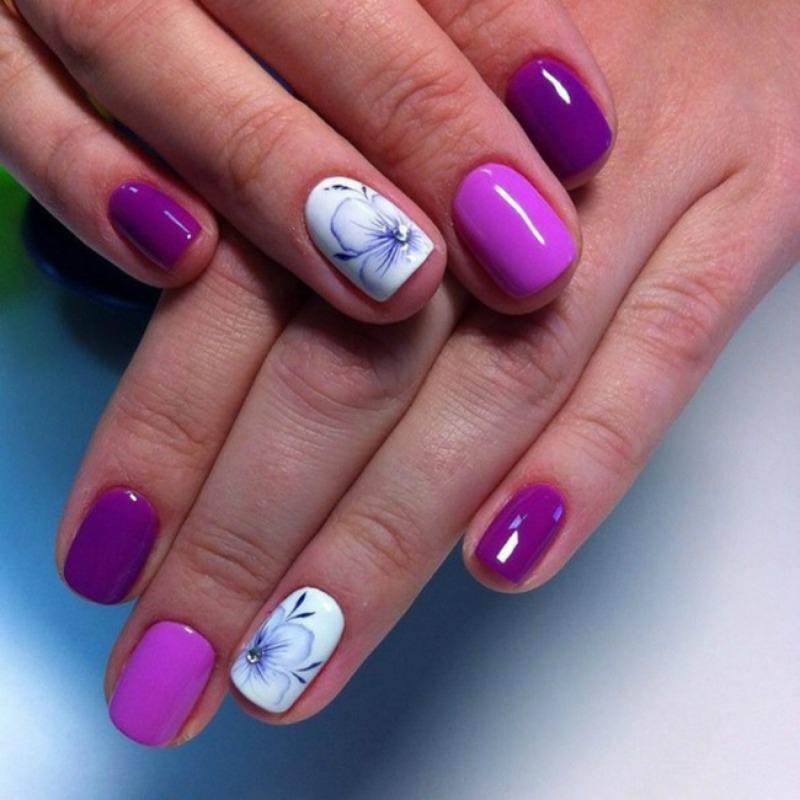 15 geniales ideas de manicura para uñas cortas, ¡no os lo
