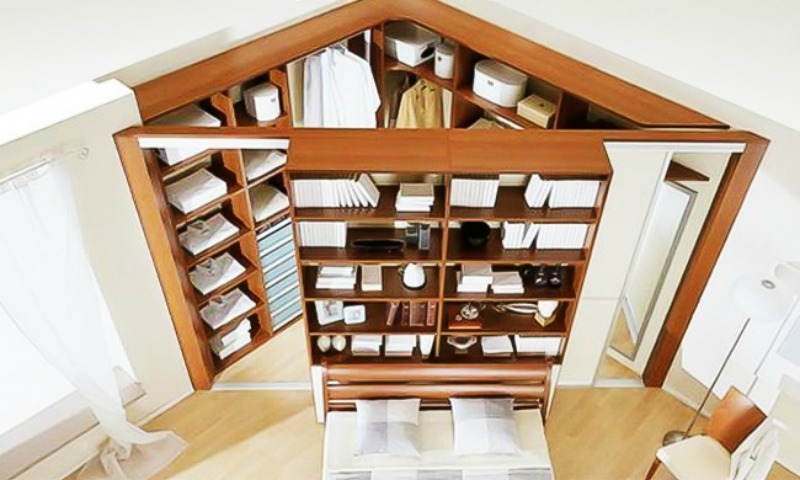 20 geniales ideas para aprovechar al m ximo los espacios - Como aprovechar espacios pequenos ...