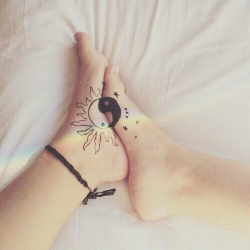 Tatuajes entre hermanas foto 14