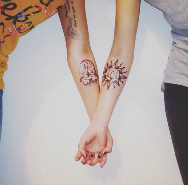 Tatuajes entre hermanas foto 17
