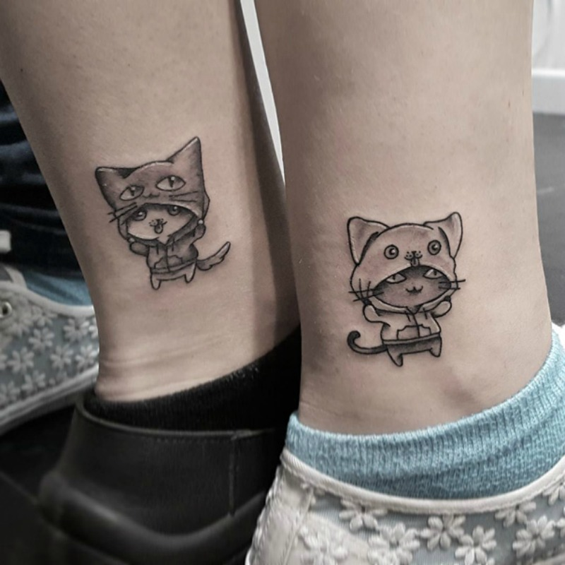 Tatuajes entre hermanas foto 2