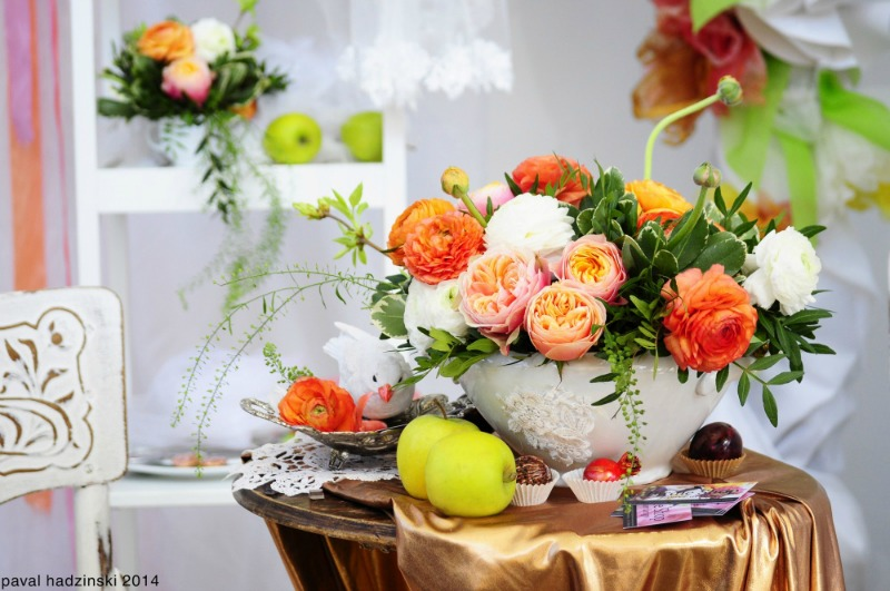 Ideas para decorar con flores 5