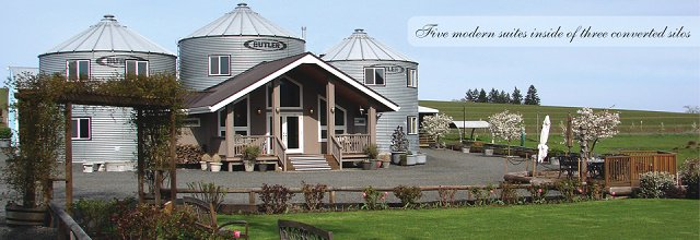 Restauraron 3 silos y los transformaron en una casa que for Compro casa bergamo