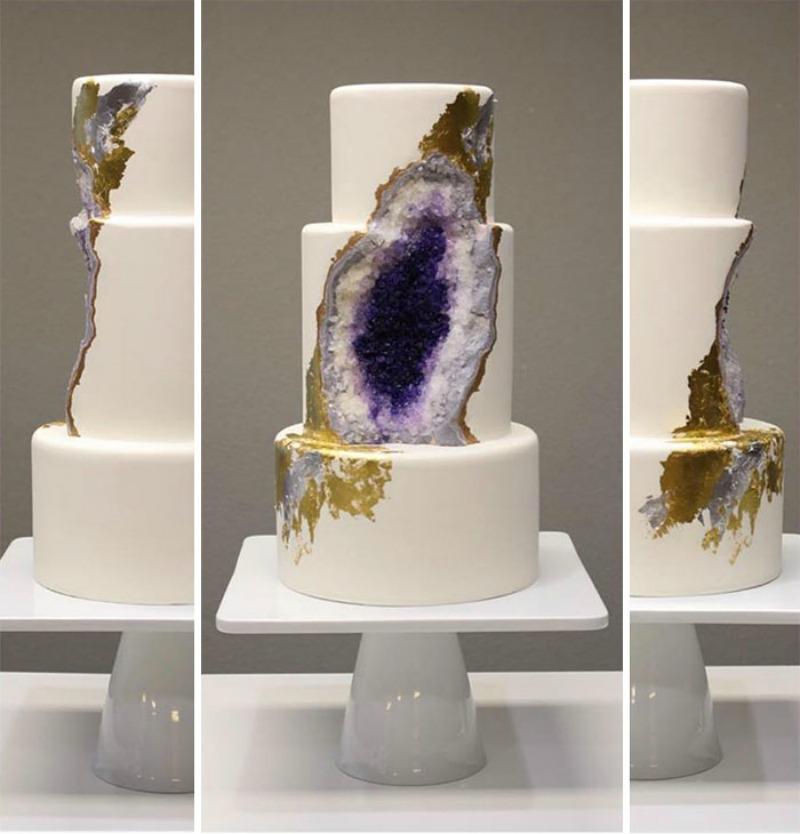 Tortas estilo geoda 1
