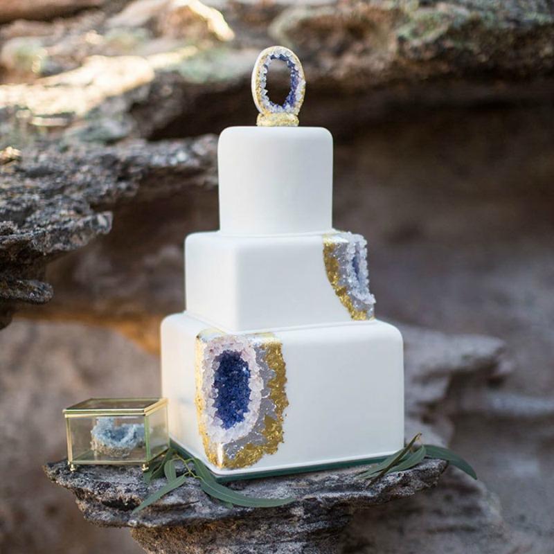 Tortas estilo geoda 11