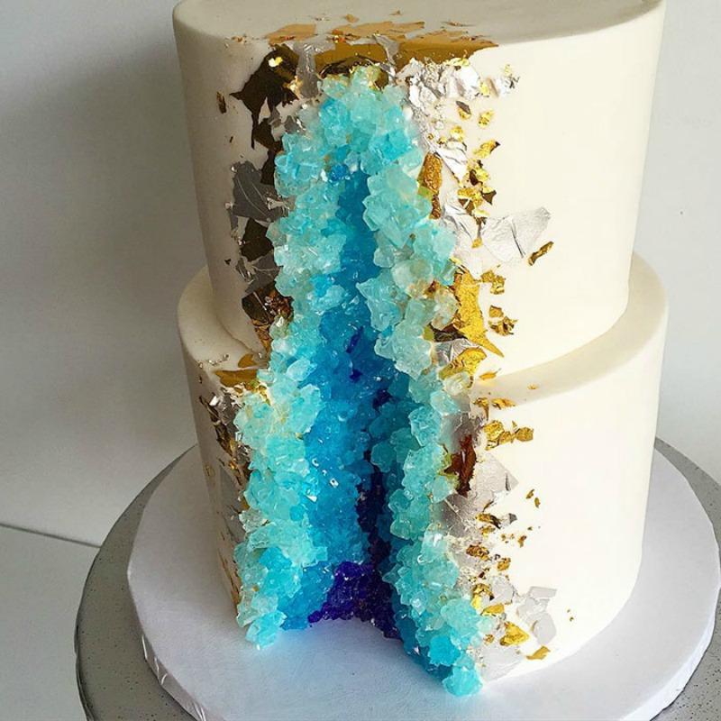 Tortas estilo geoda 6