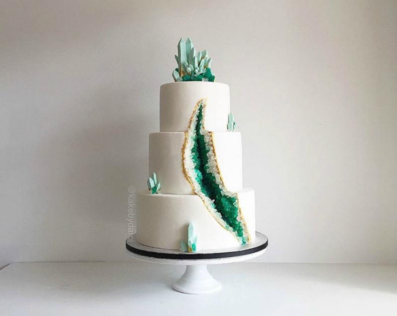 Tortas estilo geoda 9