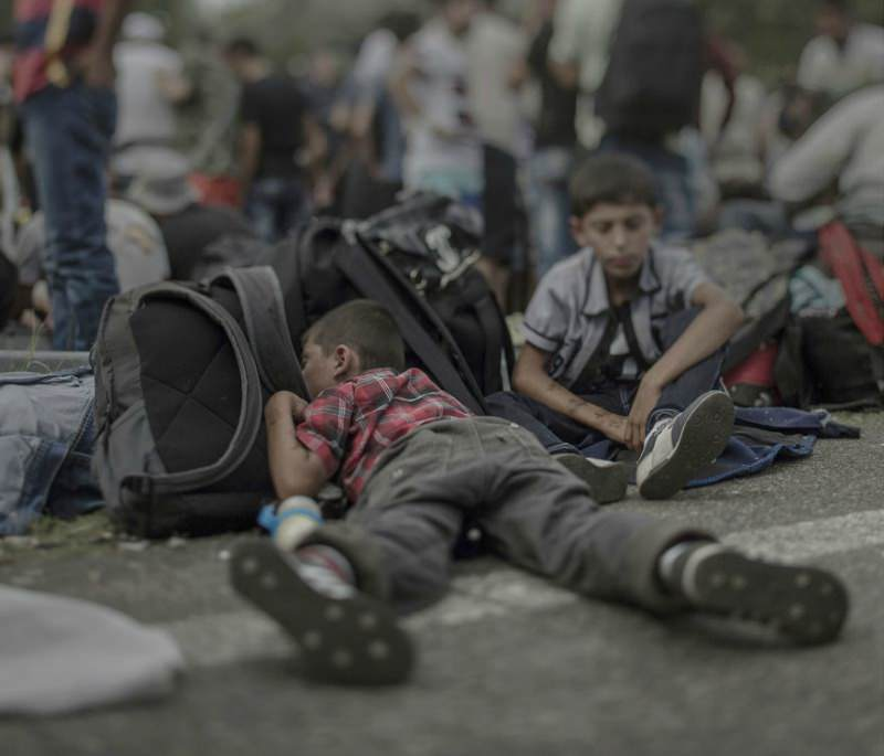 refugiados foto 8