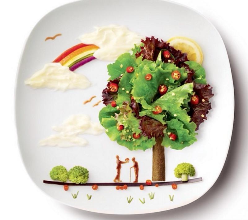 Creativos platos de comida 2