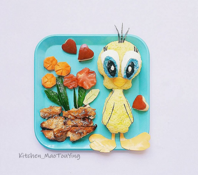 Creativos platos de comida 4