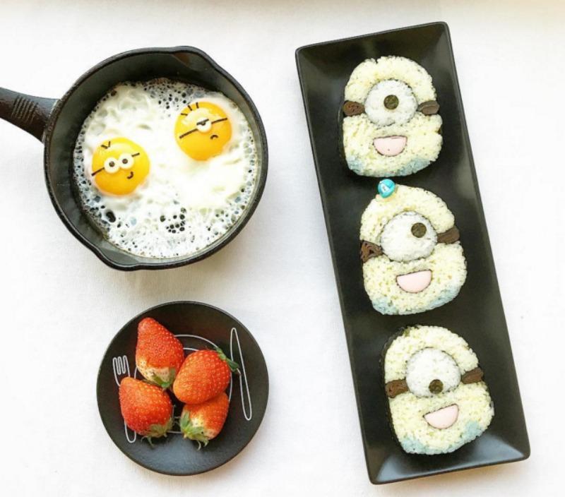 Creativos platos de comida 7