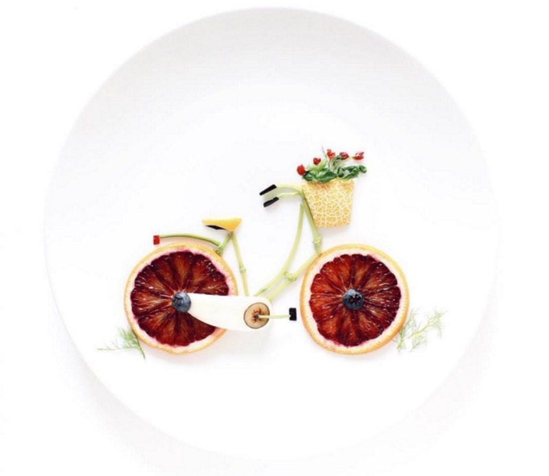 Creativos platos de comida 8