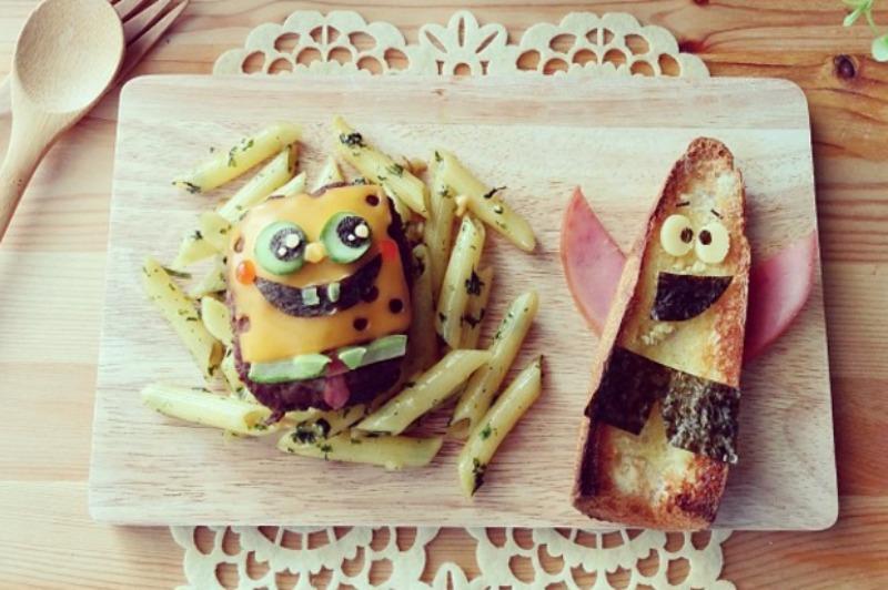 Creativos platos de comida 9