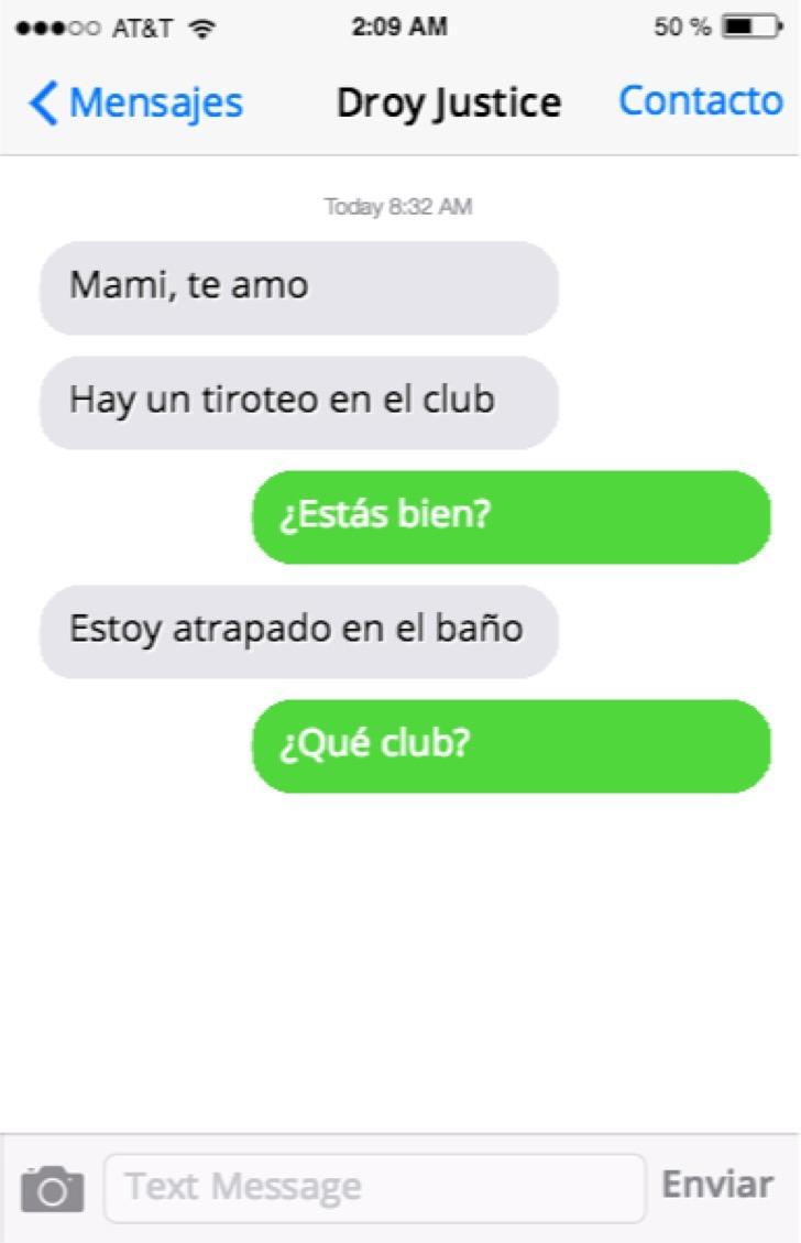 hijo envia sus ultimos mensajes a madre 2