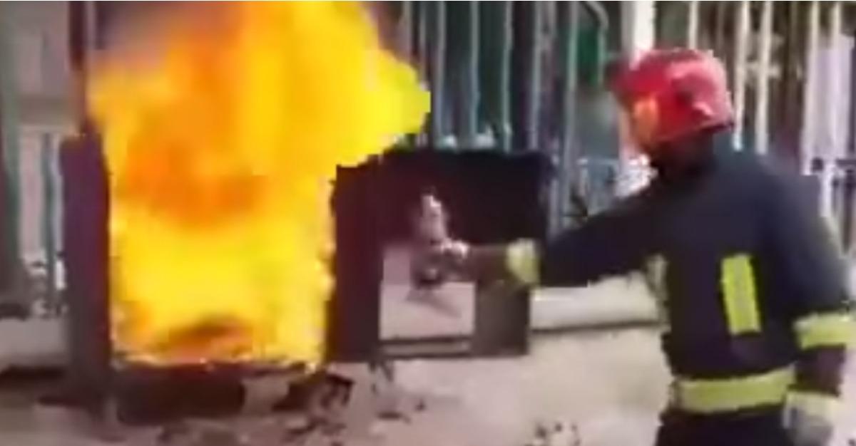 bombero coca cola foto1
